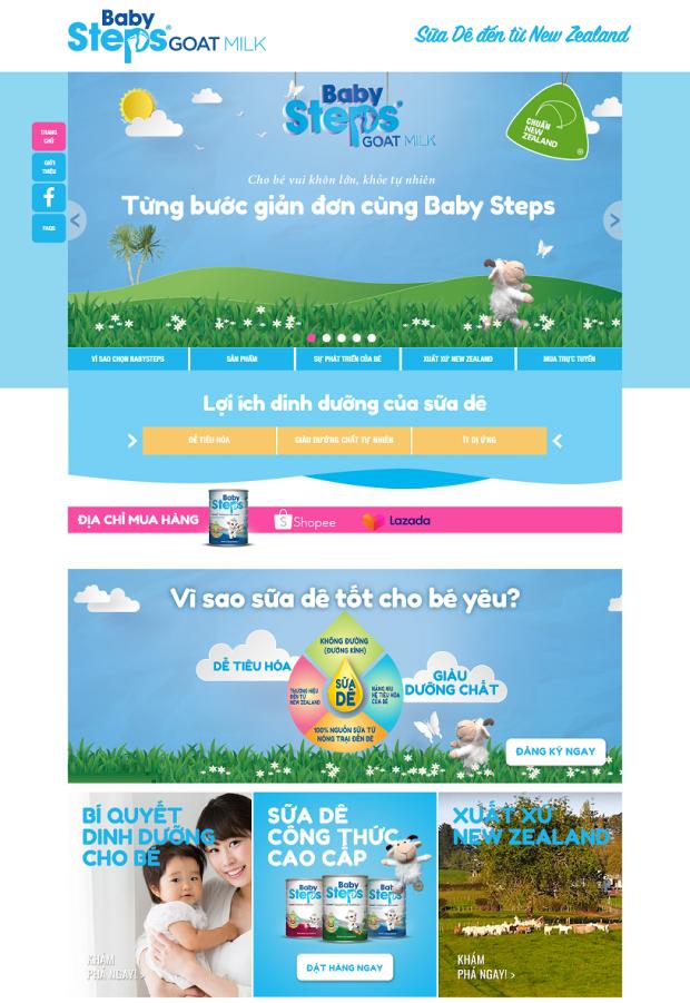 Babysteps - Desktop - Home